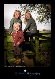 Family portrait sitting near Sleaford
