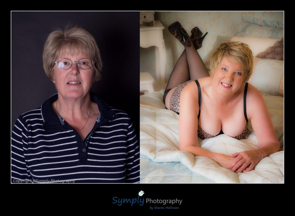 boudoir photography for the older woman